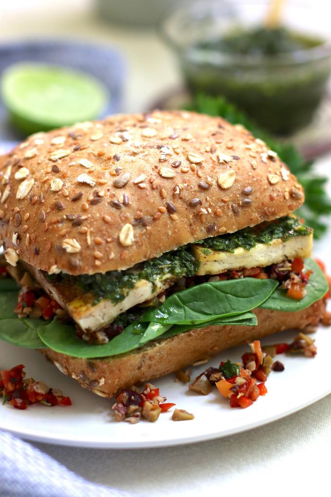 easy vegan sandwich