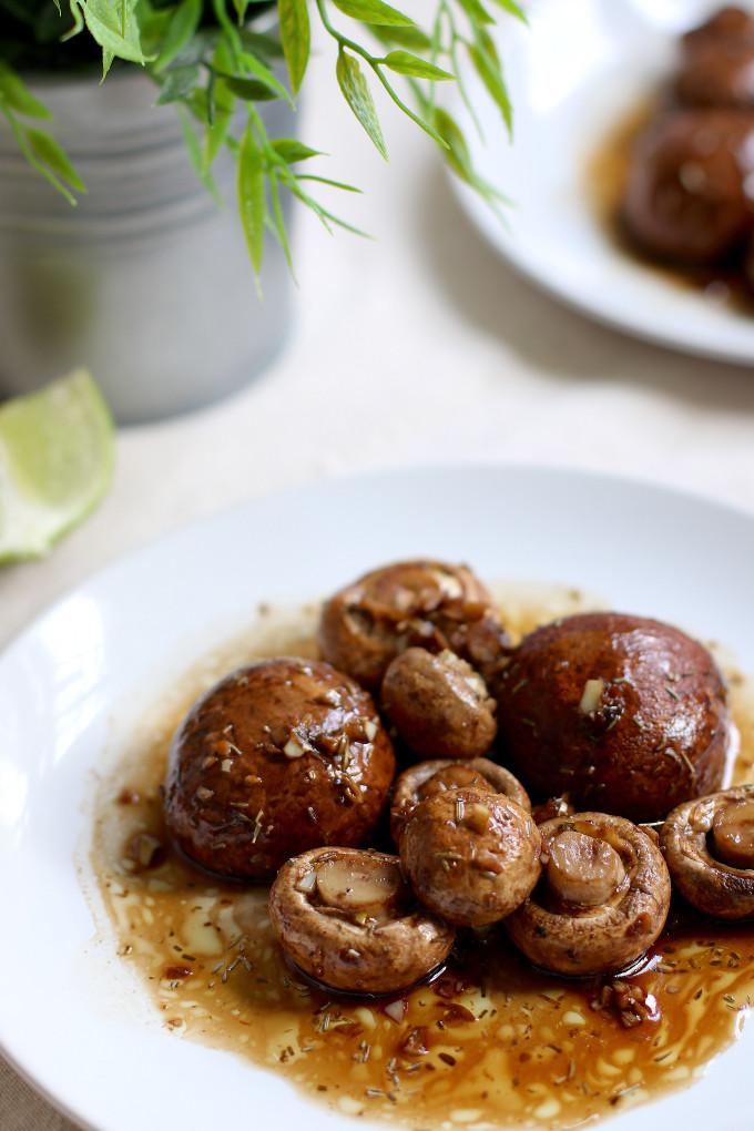 vegan mushrooms recipe