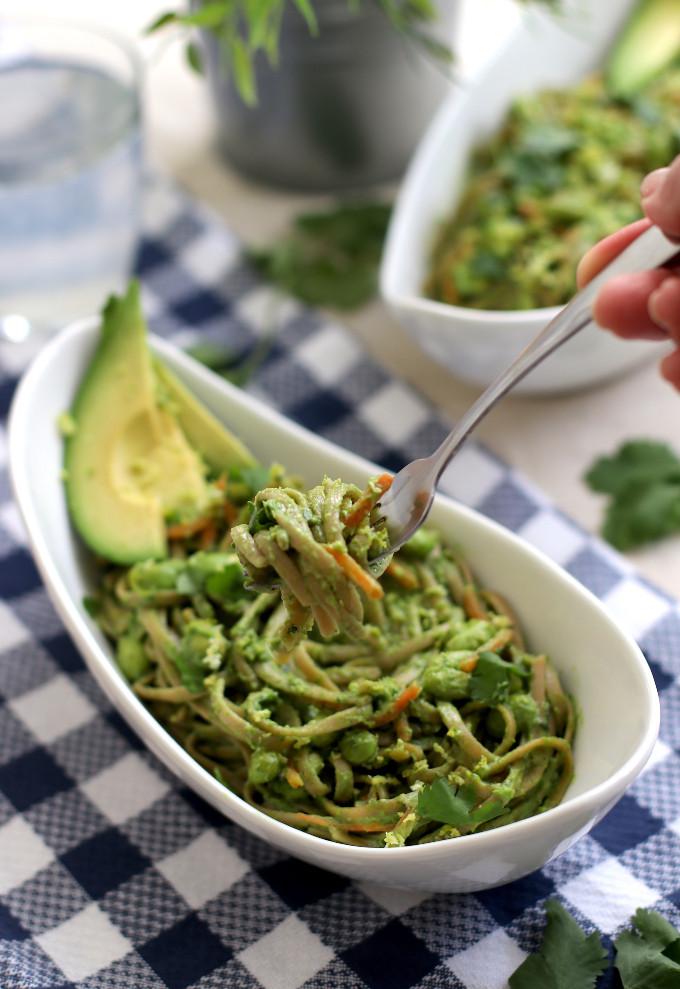 cilantro pasta sauce