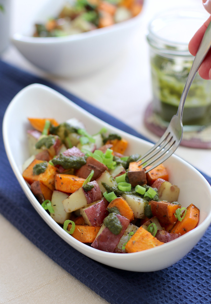 how to roast sweet potatoes