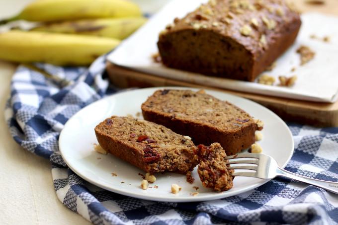 soft vegan banana bread