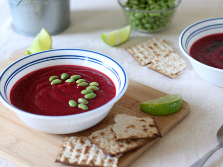Beetroot Soup | Easy and Vegan