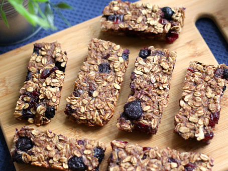 Blueberry Oatmeal Bars