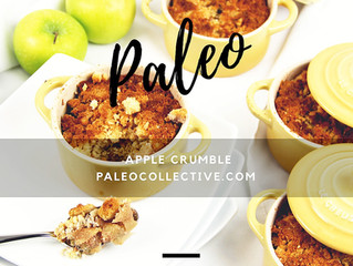 Paleo Apple Walnut Crumble