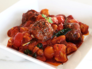 Grain-Free Gnocchi in a Traditional Arrabbiata Sauce
