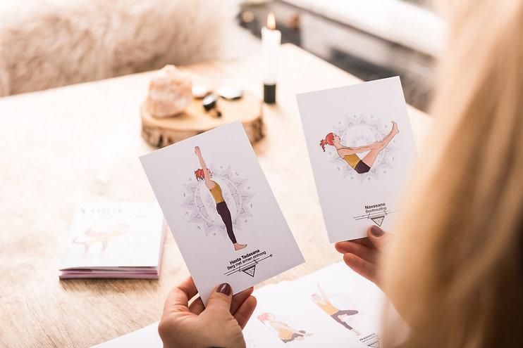 Yogakaarten Liesbeth De Backer yoga kaarten