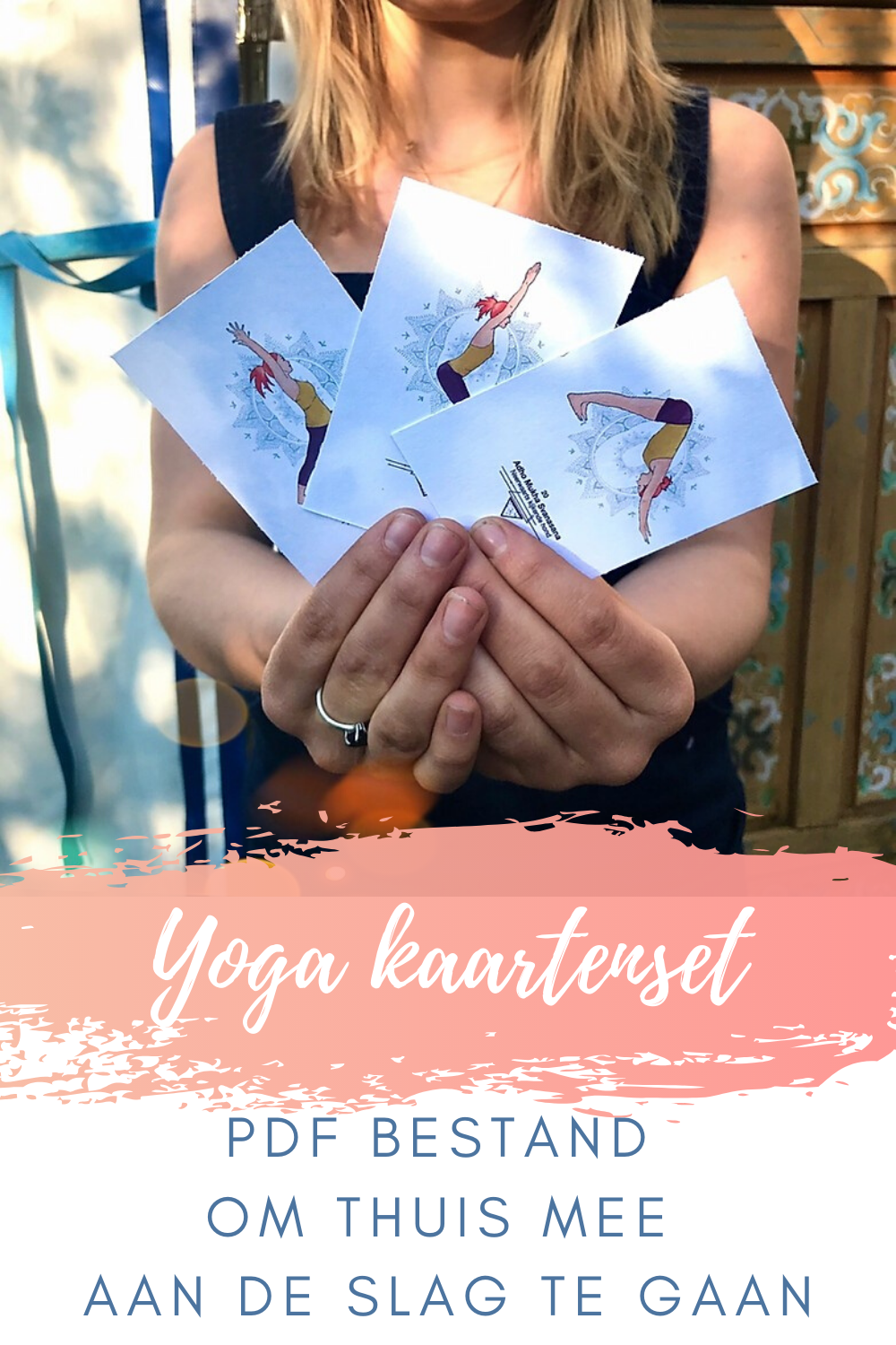 Printable yoga deck