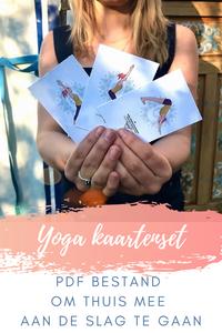 Printable yoga deck