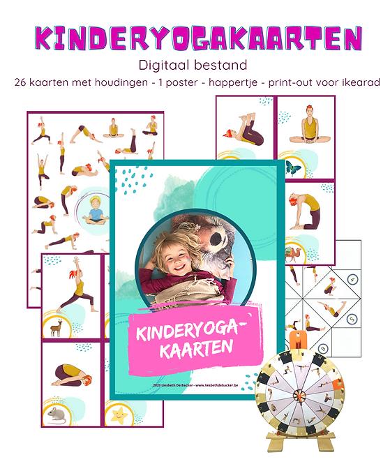 Kinderyoga kaarten