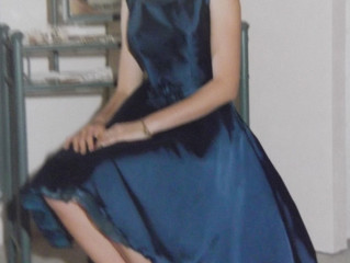 Silky Mid Night Blue Dress