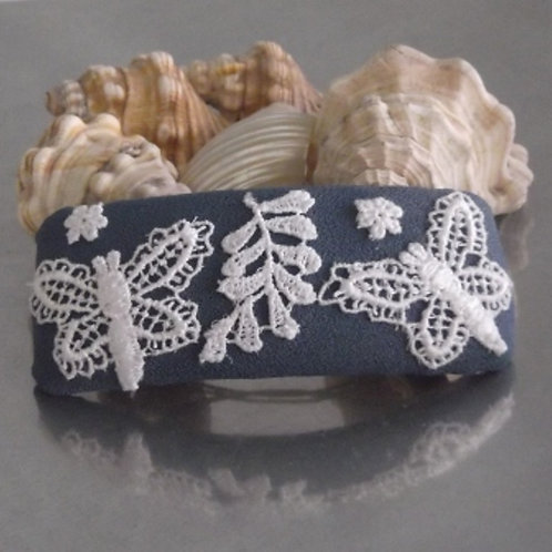 Butterfly Guipure Lace Hair Barrette