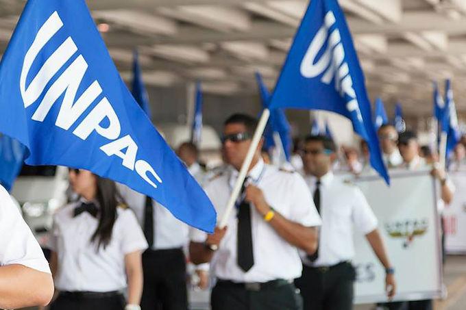 piqueteo unpac, copairlines, UNPAC, pilotos Panama, tocumen aeropuerto
