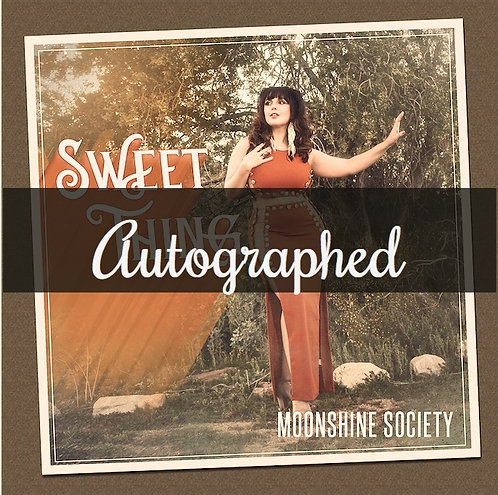 AUTOGRAPHED Sweet Thing- CD