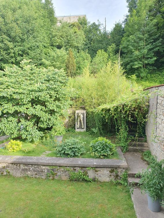 Meublé Les Bambous - Vue sur le jardin