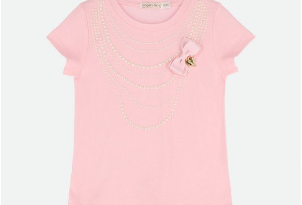 Pearl T-Shirt Fairy Pink