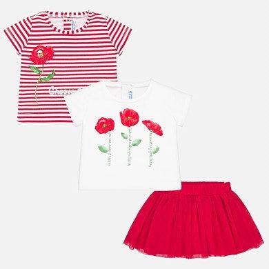Mayoral 1950 Skirt set baby girl