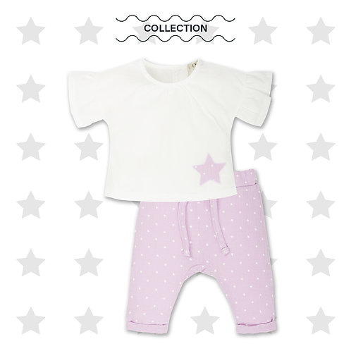 EMC baby girl 2 piece set