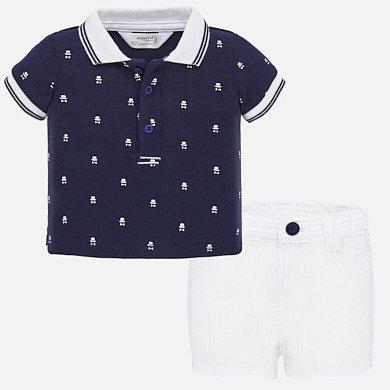 Mayoral 1270 Shorts set newborn baby boy