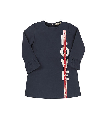 STRETCH FLEECE DRESS - AA4567
