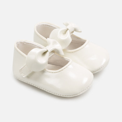 Mayoral 9286 Mary Jane newborn baby girl shoes