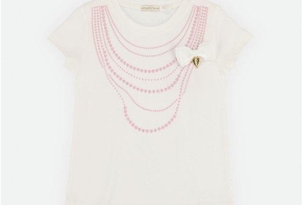 Pearl T-Shirt Snowdrop