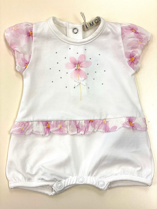 Girls White&Pink Shortie