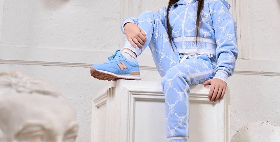 Stilnyashka 2 piece set for girls Blue