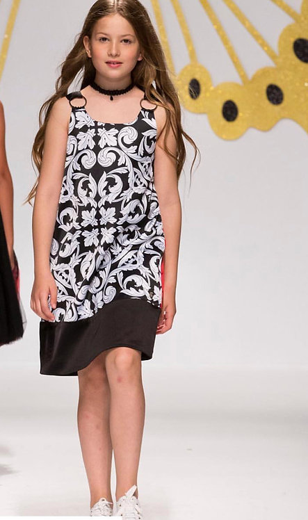 Stefania Printed Dress