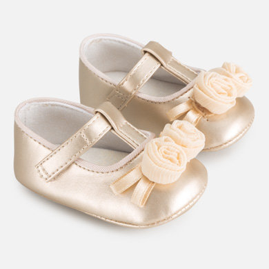 Mary Jane newborn baby girl shoes