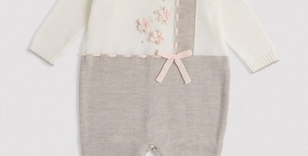 Wool Floral Playsuit