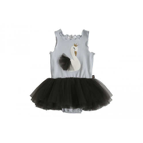 Swan Baby Tutu dress - Gray