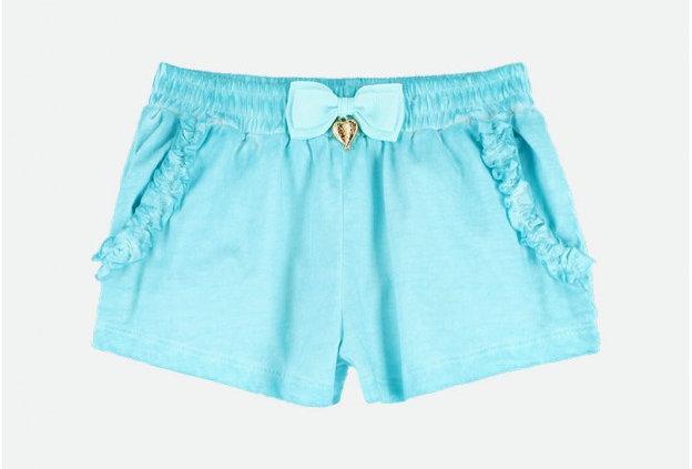 Kayla Shorts Aqua