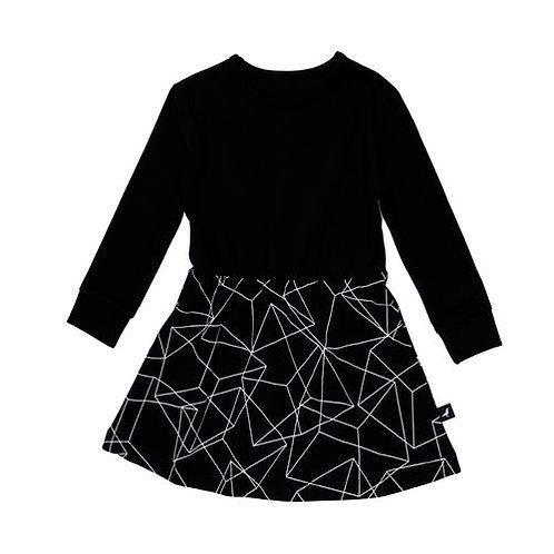 Dress - Black Cubes