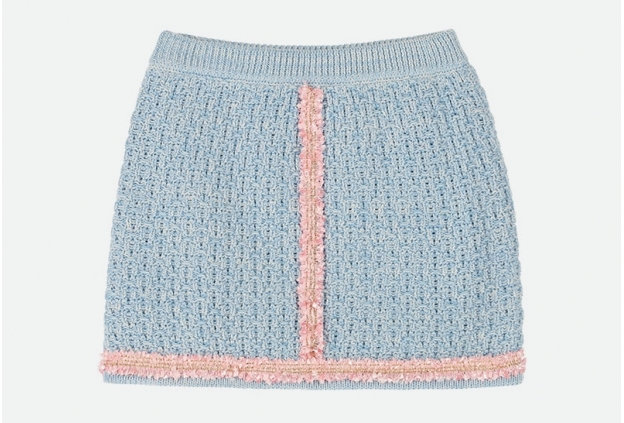 Chantel Skirt Baby Blue