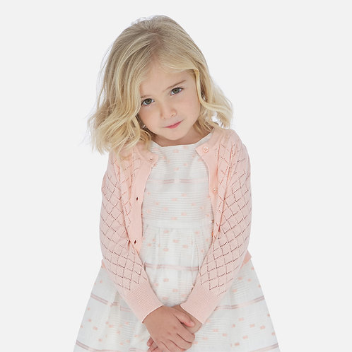 Mayoral 3321 Long sleeved Cardigan for girl