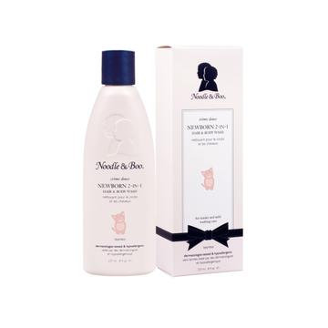 NEWBORN 2-IN-1 HAIR & BODY WASH for tender and mild washing care