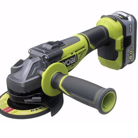 RYOBI CORDLESS GRINDER - AFFORDABLE AND PRACTICAL