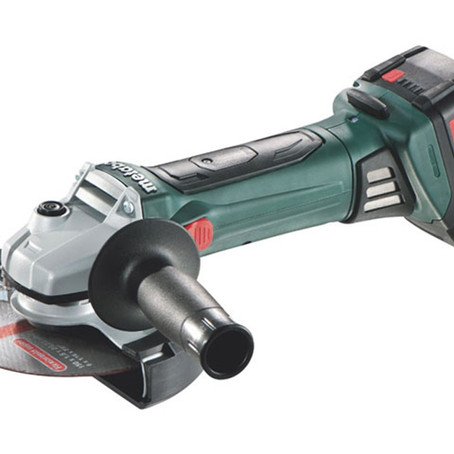 METABO CORDLESS GRINDER - PURE COMPACT CAPABILITY