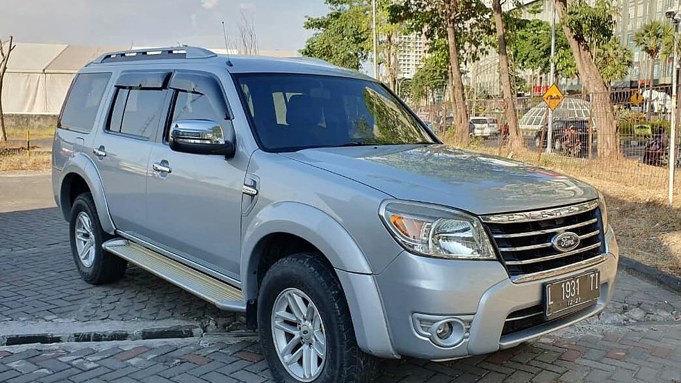 FORD EVEREST 2.5 XLT 4x2 2010