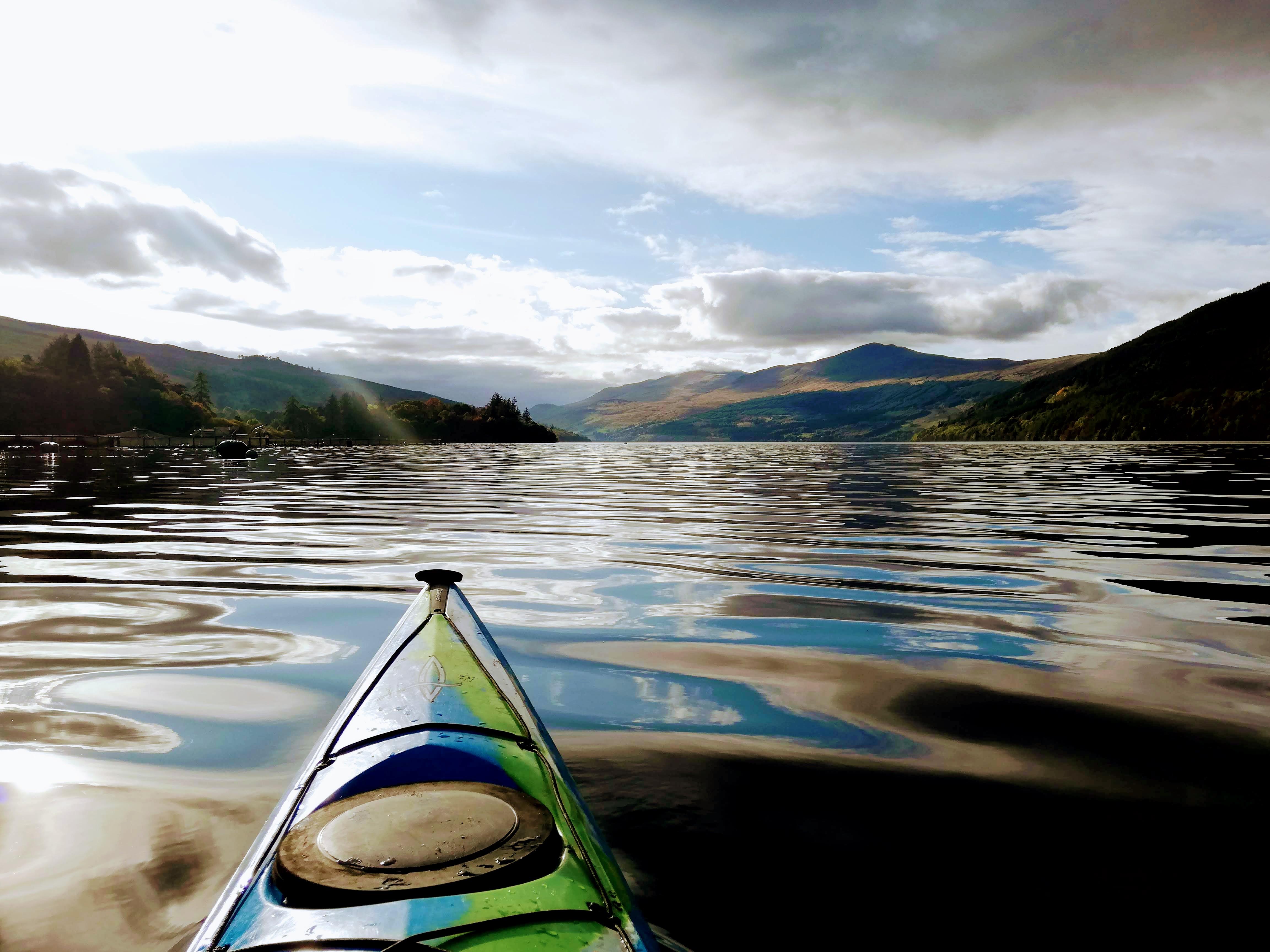 Kayak Clinic Loch Tay
