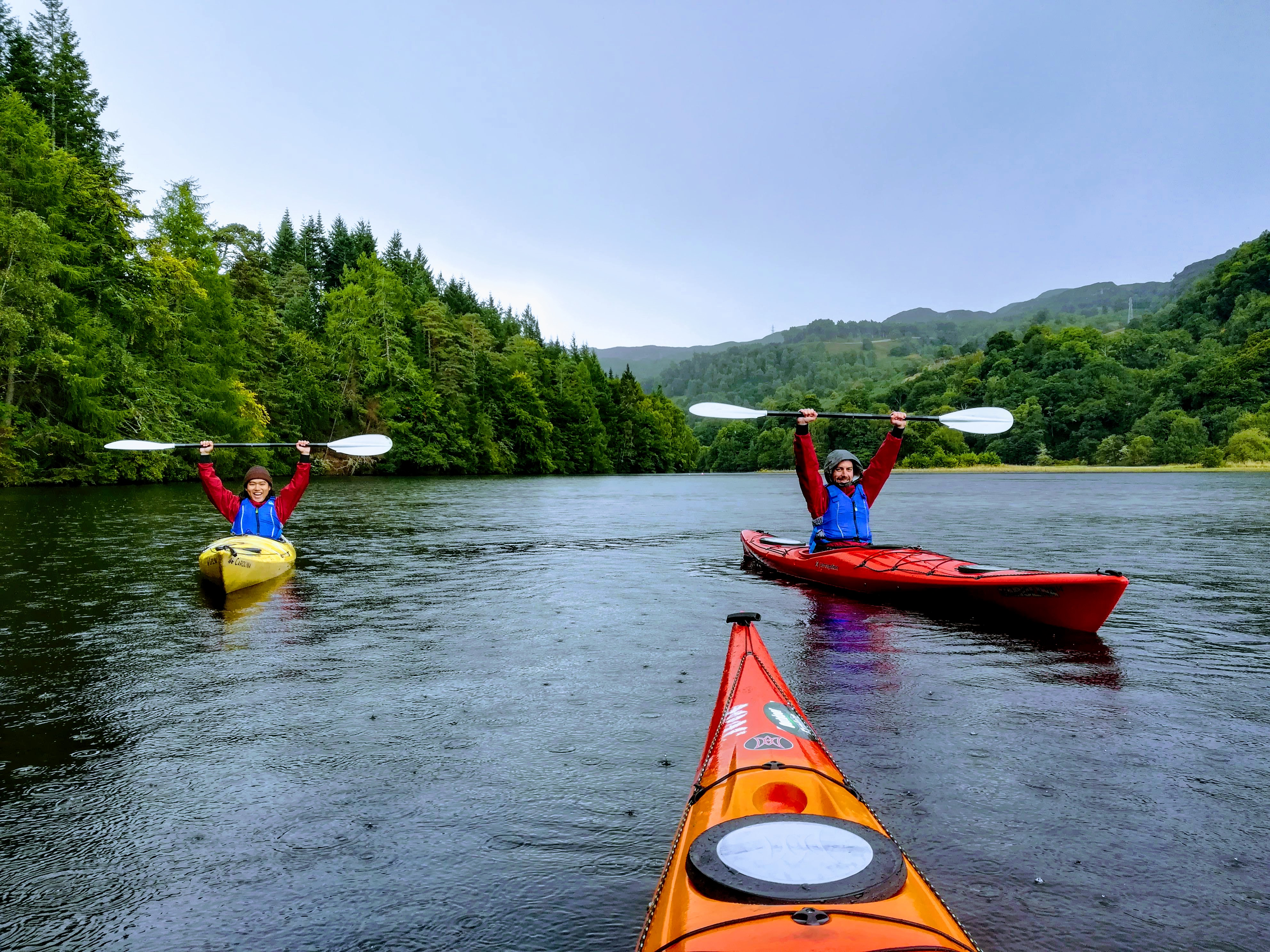 Loch Faskally - Kayaking with Outdoor Explore