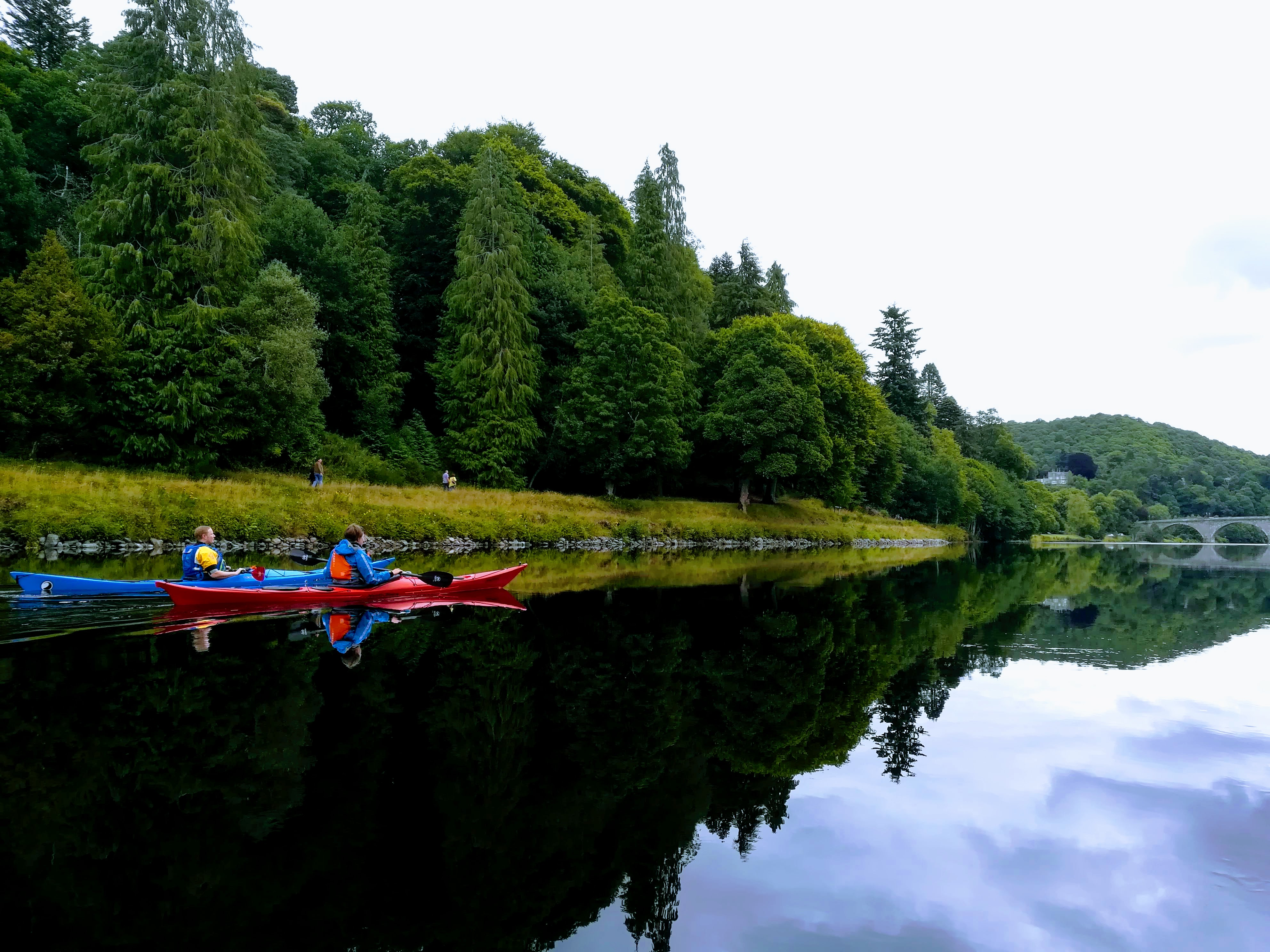 Dunkeld, River Tay - Kayaking with Outdoor Explore