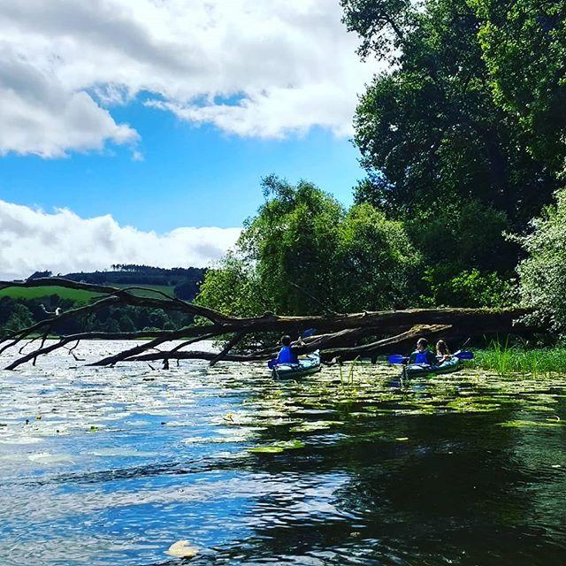 Clunie Loch Kayaking