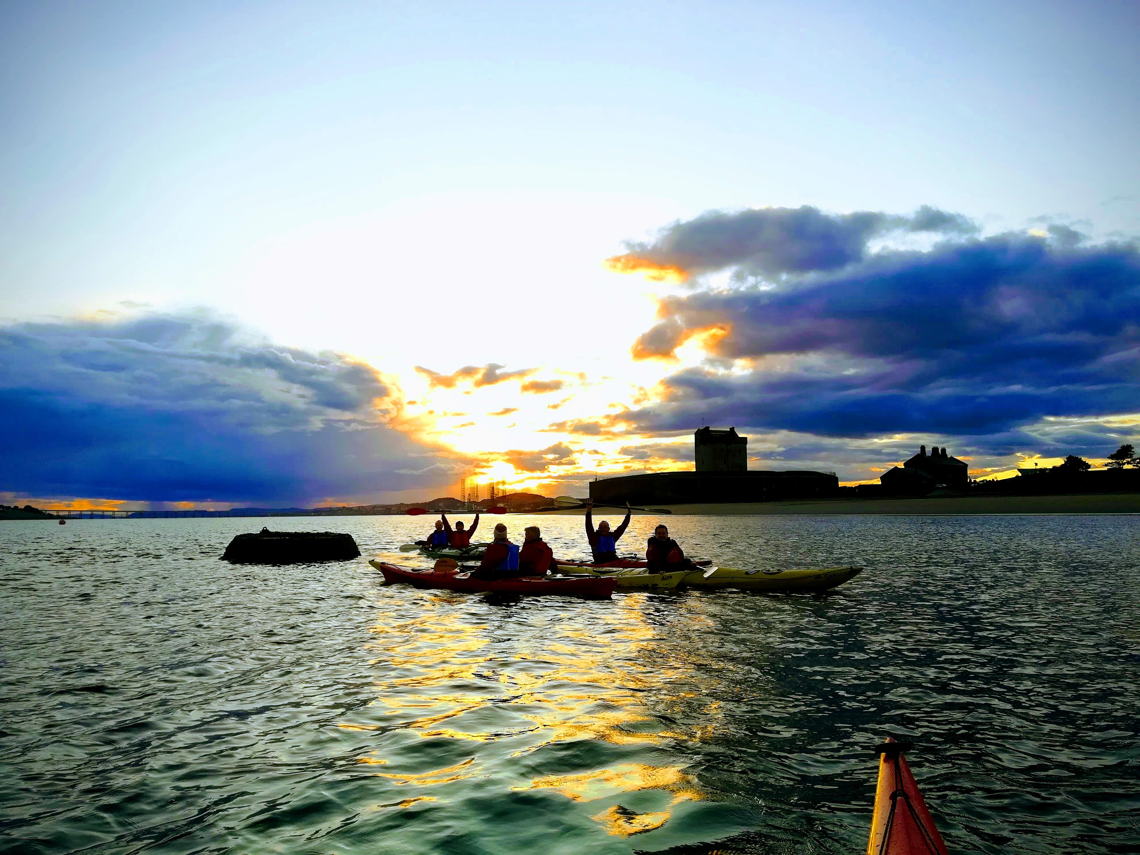 Kayaking near Dundee
