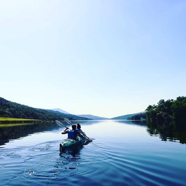 Loch Tummel Kayaking