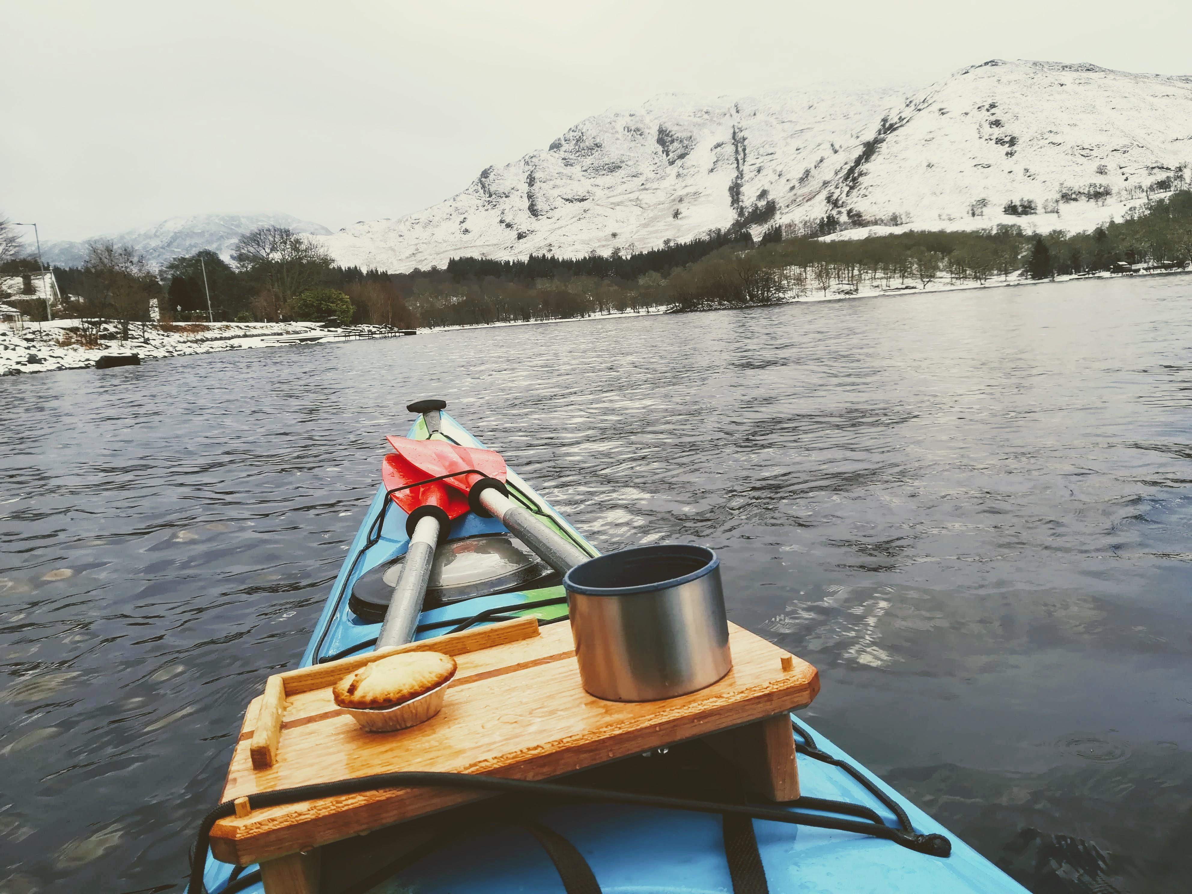 Winter kayaking Outdoor Explore