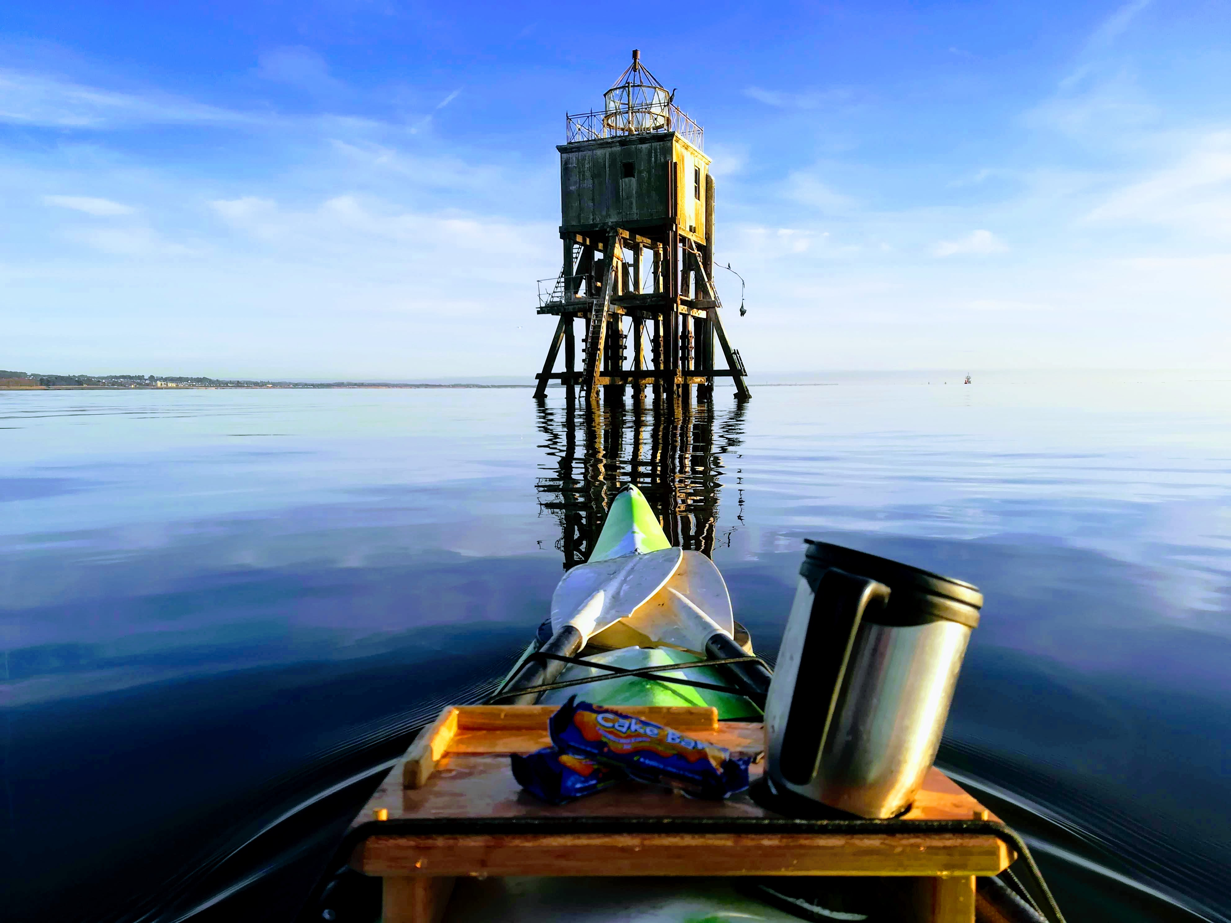Morning coffee  and kayaking at Tayport - Outdoor Explore