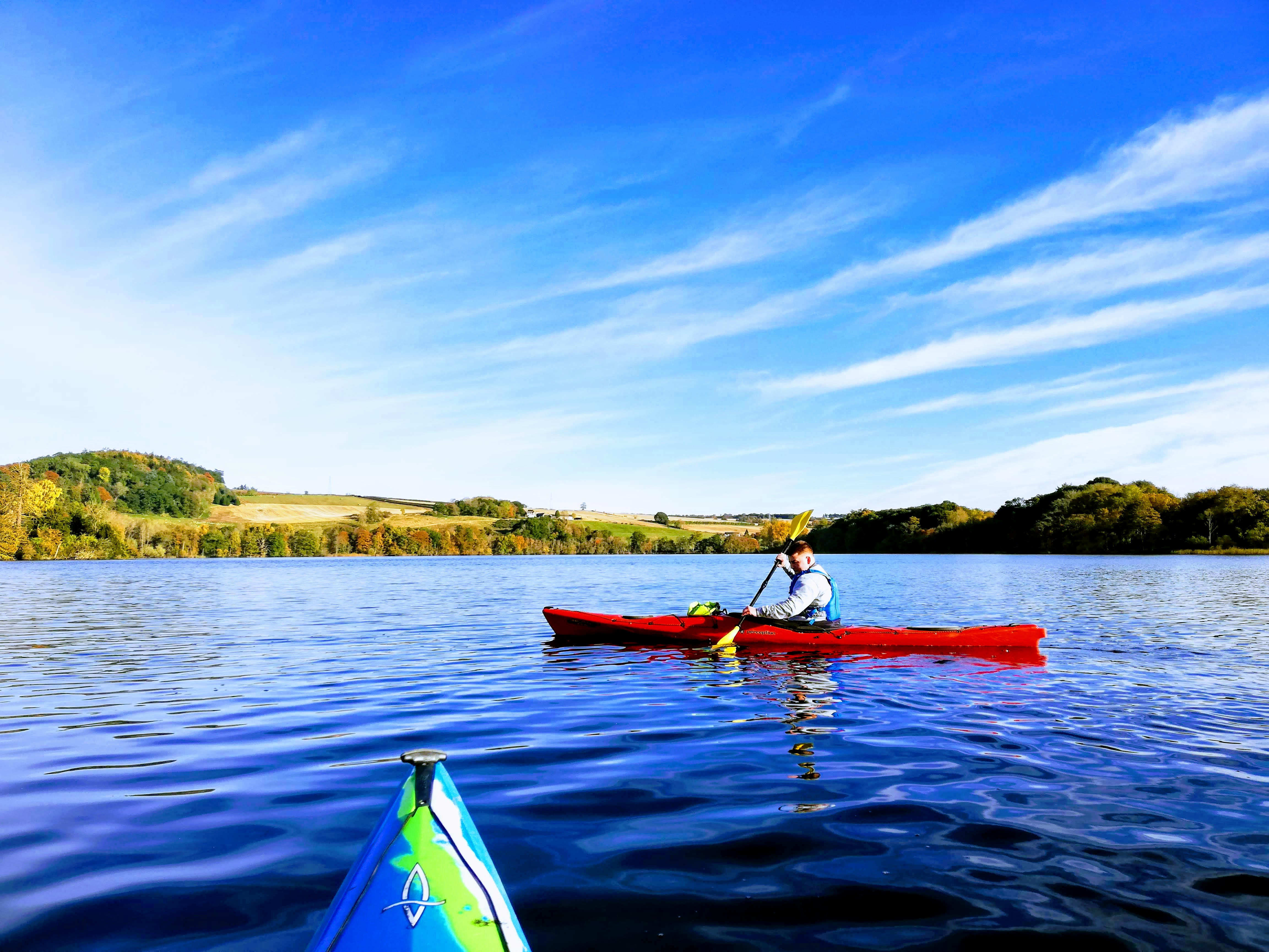 Kayak Clinic Clunie Loch
