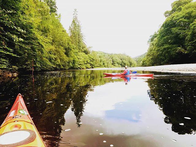 Loch Faskally kayaking