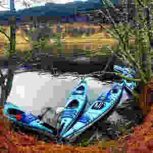 Kayaking at Loch Tummel